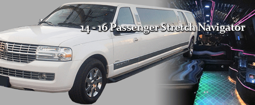 14-16 SUV Stretch Limo